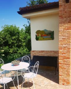 Un patio o zona al aire libre en Hotel rural Los Manzanos