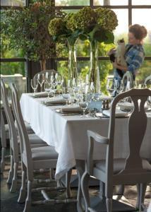 Restauracja lub miejsce do jedzenia w obiekcie Villa Park Wisełka Spa & Wellness