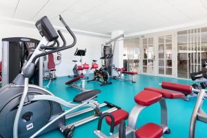 Gimnasio o instalaciones de fitness de Hotel Best San Diego
