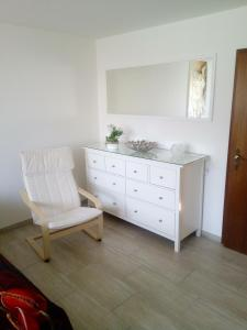 A seating area at Appartement Willmeroth