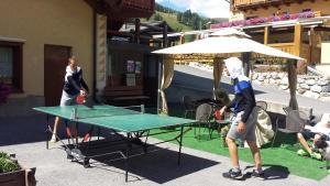 Stolní tenis v ubytování Al Molino nebo okolí
