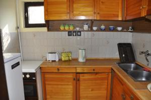 Η κουζίνα ή μικρή κουζίνα στο Hotel Palota