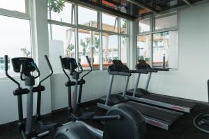 The fitness centre and/or fitness facilities at Utopian Homes at Sutera Avenue