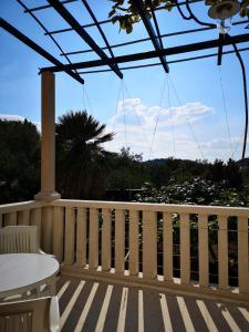 Balcon ou terrasse dans l'établissement Apartments and Rooms Villa Mir