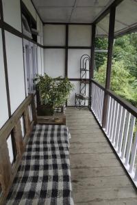 A balcony or terrace at Vamoose Hitaishi