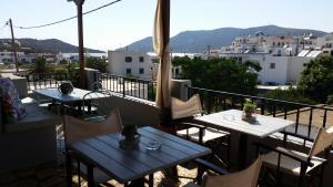 A balcony or terrace at Studio Katerina