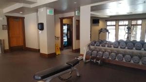 The fitness center and/or fitness facilities at Raintree's The Miners Club Park City