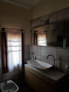A bathroom at Bed and Breakfast Gigi e Antonella