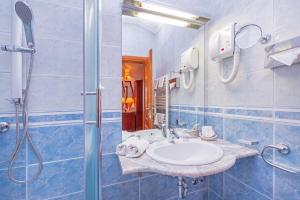 A bathroom at Hotel Ostrea