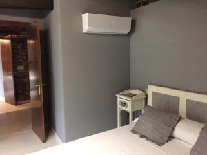 Uma cama ou camas num quarto em Andurina De Los Oscos