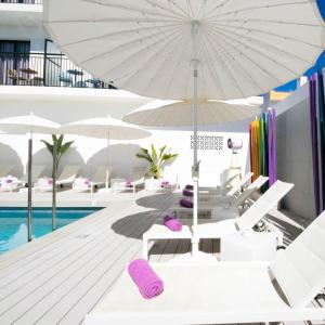 The swimming pool at or near The Purple Hotel - Gay Special