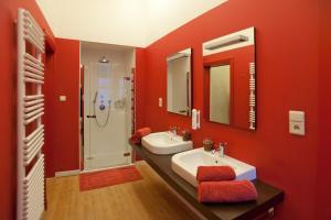 Een badkamer bij Hotel Orion