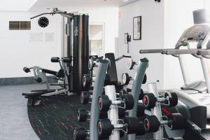 The fitness center and/or fitness facilities at The Como Melbourne - MGallery by Sofitel