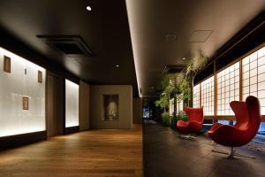The lobby or reception area at Hotel Resol Kyoto Kawaramachi Sanjo