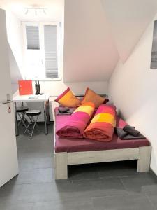 Ein Sitzbereich in der Unterkunft HITrental Station Apartments