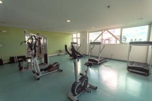 The fitness center and/or fitness facilities at Iguatemi Business & Flat