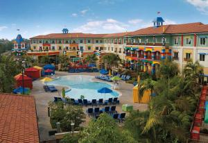 A view of the pool at LEGOLAND California Hotel and Castle Hotel or nearby