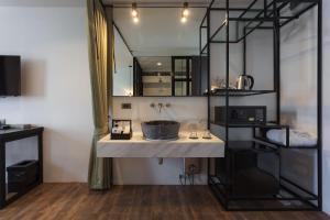 Küche/Küchenzeile in der Unterkunft Oriental Heritage Residence