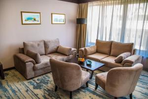 منطقة جلوس في فندق ملاك ريجنسي