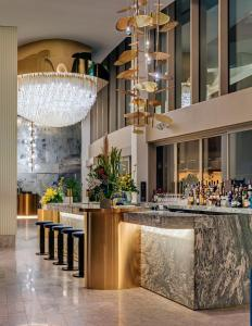 The lobby or reception area at The Darling at The Star Gold Coast