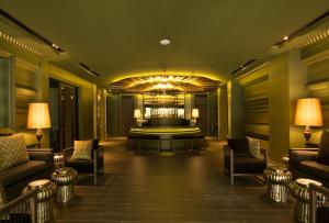 The lobby or reception area at Chillax Heritage
