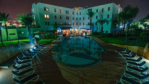 A view of the pool at Ibis Meknes or nearby