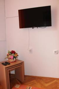 Телевизор и/или развлекательный центр в Dudić apartmani