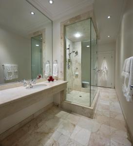 A bathroom at The Strathcona Hotel