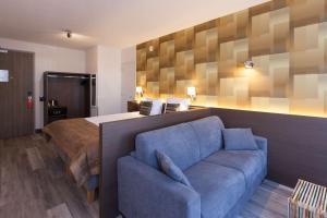 Een zitgedeelte bij Best Western Hotel Den Haag