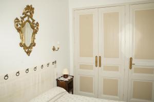 Un ou plusieurs lits dans un hébergement de l'établissement Hotel Montsegur