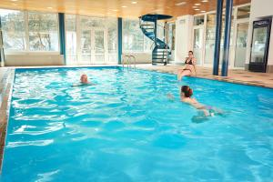 The swimming pool at or near Apartmany Firn