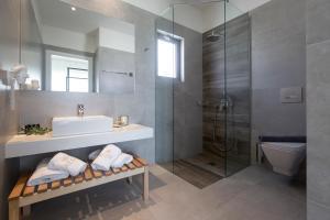 Łazienka w obiekcie Aloe Boutique Hotel & Suites - adults only