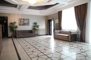 Гостиная зона в Отель Прага