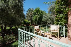 A balcony or terrace at Dar Zemora