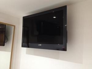 A television and/or entertainment centre at The Podworks Hotel