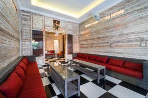 Lounge oder Bar in der Unterkunft Nyuh Gading Home Stay