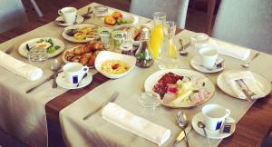 Možnosti zajtrka za goste nastanitve Gostišče Iršič