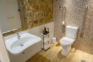 Un baño de A Bughina apartamentos