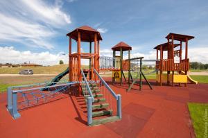 Children's play area at Kapteinu Osta