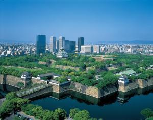 A bird's-eye view of Osaka Tokyu REI Hotel
