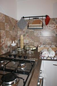 Cucina o angolo cottura di B&B PugliaMeraviglia