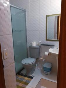 Um banheiro em Apartment Buzios Home