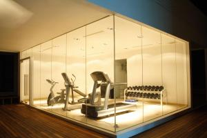 The fitness center and/or fitness facilities at The Library - SHA Plus