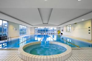 The swimming pool at or near Hilton Rome Airport