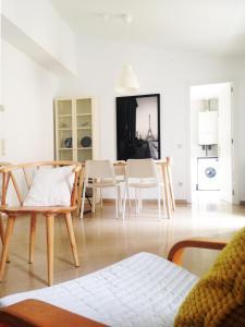 Un lugar para sentarse en RC Apartaments Girona Rambla