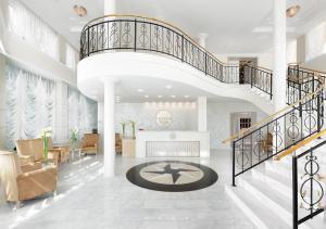 The lobby or reception area at Hotel Tresor Le Palais