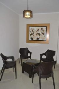 A seating area at Gran Caral Hotel