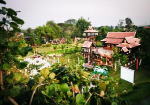 A bird's-eye view of Siripanna Villa Resort & Spa Chiang Mai