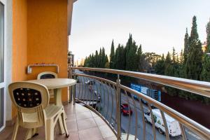 Балкон или терраса в Гостиница Камелия