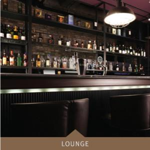 The lounge or bar area at Boutique Hotel Loft